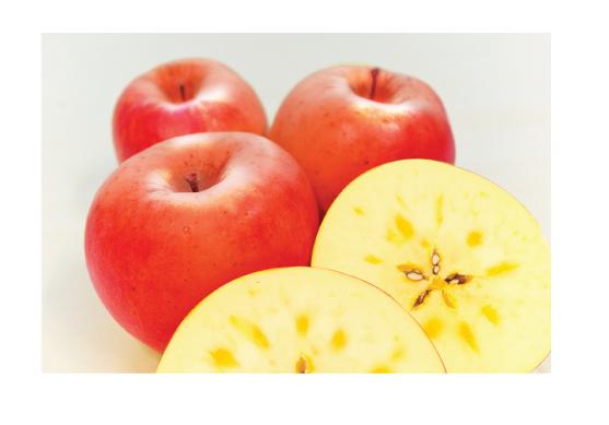りんごの蜜は甘い?